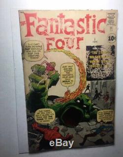 1961 Fantastic Four #1 1st App Origin Marvel KEY CGC 1.5 Silver Age Lee Kirby 1