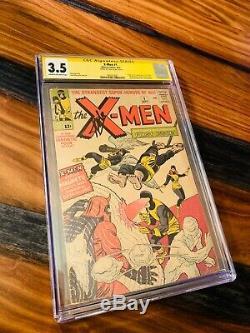 1963 X-Men 1 CGC 3.5! SS STAN LEE 1st App of Magneto, Mutants, Professor X