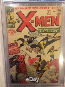 1963 X-Men #1 CGC 5.0 1st App of Magneto Mutants Professor X KEY MARVEL COMICS