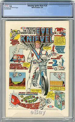 1974 Amazing Spider-Man 129 CGC 7.0 1st Punisher