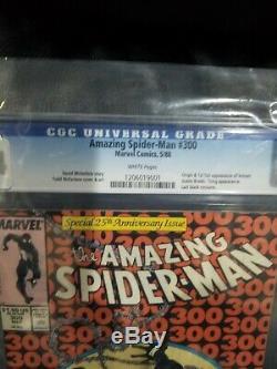 AMAZING SPIDER-MAN #300 1st App VENOM CGC 9.4 WHITE Pg NM Key Issue