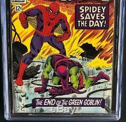 AMAZING SPIDER-MAN #40 (1966) CGC 9.0 OW-W GREEN GOBLIN Origin