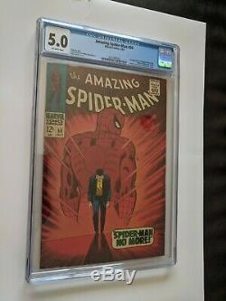 AMAZING SPIDER-MAN #50 (1967) CGC 5.0 1st KINGPIN! $. 99, NO RESERVE