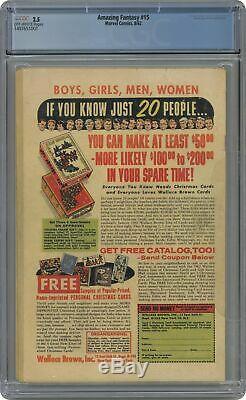 Amazing Fantasy #15 1962 CGC 2.5 1497651001