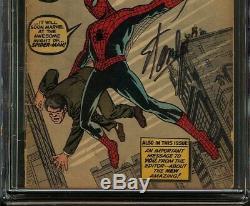 Amazing Fantasy #15 CGC 2.5 GD+ SS STAN LEE Origin 1st Spider-Man Peter Parker