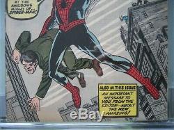 Amazing Fantasy #15 CGC 7.0 Marvel Comics 1962 Origin & 1st app Spider-Man