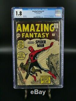 Amazing Fantasy #15 GD- CGC 1.8