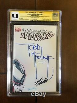 Amazing SPIDER MAN 648 CGC SS 9.8 Sketch By Todd Mcfarlane Signed By Stan Lee