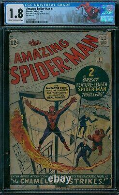 Amazing Spider-Man 1 CGC 1.8