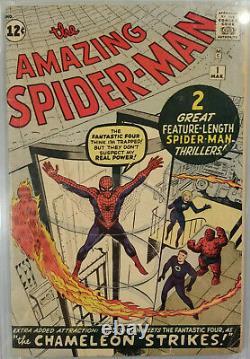 Amazing Spider-Man #1 (CGC 3.0! Holy Grail! Nuff Said!)
