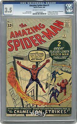Amazing Spider-Man #1 CGC 3.5 1963 0280302001