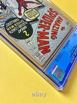 Amazing Spider-Man #1 CGC 5.0 Silver Age March 1963 Key Grail Comic Classic