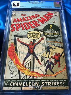 Amazing Spider-Man #1 CGC 6.0 Silver Age March 1963 Key Grail Comic Classic