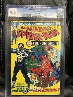 Amazing Spider-Man #129 CGC 9.6 WP- 1st Appearance of Punisher