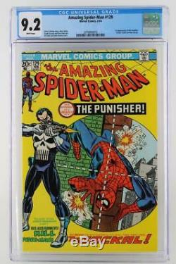 Amazing Spider-Man #129 -NEAR MINT- CGC 9.2 NM- Marvel 1974 1st App Punisher