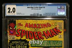 Amazing Spider-Man #14 CGC 2.0 (Marvel) HIGH RES SCANS