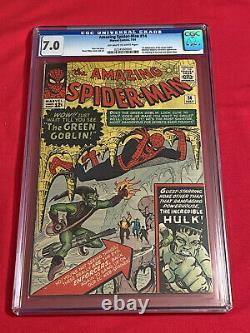 Amazing Spider-Man #14 CGC 7.0 1st App. GREEN GOBLIN
