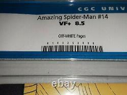 Amazing Spider-Man #14 CGC 8.5 OW Marvel 1964 1st Green Goblin