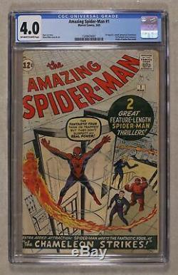 Amazing Spider-Man (1st Series) #1 1963 CGC 4.0 1249474001