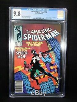 Amazing Spider-Man #252 CGC 9.8 White Pages 1st App Black Costume