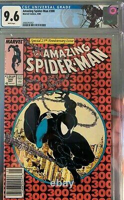 Amazing Spider-Man # 300 CGC 9.6 NEWSSTAND 1st App Venom Spiderman
