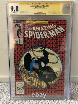 Amazing Spider-Man #300 CGC 9.8 McFarlane Signed Venom First Appearance