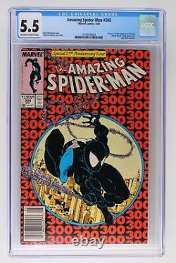 Amazing Spider-Man #300 Marvel 1988 CGC 5.5 1st Appearance and Origin of Venom
