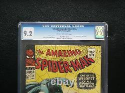Amazing Spider-Man #45 CGC 9.2 NM- Universal CGC #1074643002
