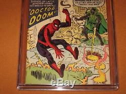 Amazing Spider-Man #5 CGC 8.0! 1st Dr Doom not in FF! 12 HD pix Ships INSURED