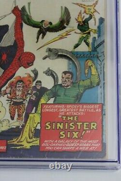 Amazing Spider-Man Annual #1 CGC 2.5 (Marvel) COVER DETACHED