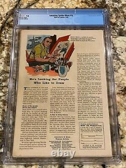 Amazing Spider-man #14 Cgc 7.0 Rare White Pages 1st Green Goblin Super Nice Copy