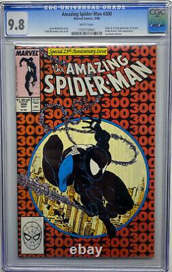 Amazing Spider-man 300 Cgc 9.8! First Appearance Of Venom