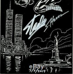 Amazing Spider-man V2 #36 Cgc Ss 9.8 Stan Lee & Hanna & Straczynski 911 Tribute