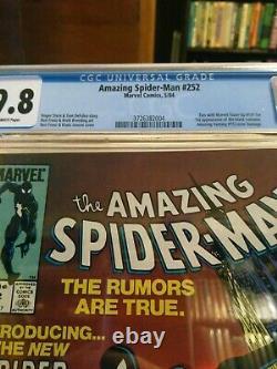 Amazing spider-man 252 cgc 9.8 newsstand