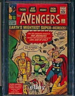 Avengers #1 (9/63) Cgc Vg/fn 5.0 1st App Avengers Ff X-over Loki