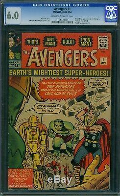 Avengers 1 CGC 6.0