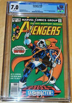Avengers #196 CGC 7.0 (WHITE PAGES) Origin & 1st Full Appearance of Taskmaster