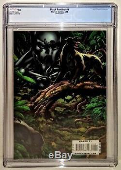 BLACK PANTHER #1 Variant 1st BLACK PANTHER (SHURI) Wraparound Cover CGC 9.82 5