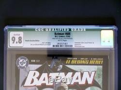 Batman #608 DC 2002 -MINT- CGC 9.8 NM/MT Retailer Edition Signed by Jim Lee