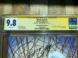 Black Cat #1 J Scott Campbell SDCC Exclusive Virgin Art Signed & CGC Graded 9.8