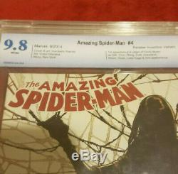 CBCS 9.8 Amazing Spider-Man 4 Ramos variant 1st Appearance SILK (not CGC) HOT