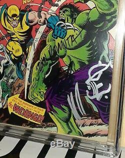 CGC 6.5 Incredible Hulk 181 ss Stan Lee, Len Wein, John Romita Sr, Trimpe Sketch