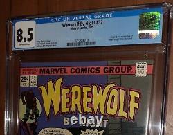 CGC 8.5 Werewolf By Night 32. 1st Appearance Moon Knight Marc Spector Disney MCU