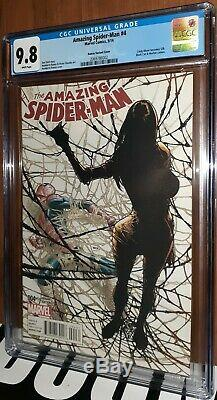 CGC 9.8 Amazing Spider-Man 4 Ramos variant 1st Appearance Silk Spiderverse movie