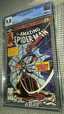 CGC 9.8 Amazing Spiderman 210. White Pages. 1st Appearance of Madame Web. Movie