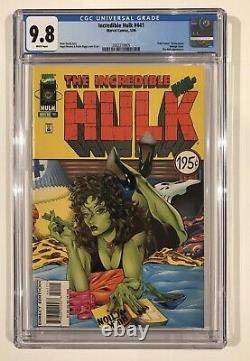 CGC 9.8 Incredible Hulk 441 Sensational Pulp Fiction Movie Homage 40 She-Hulk 1