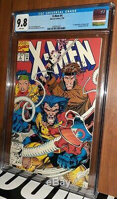 CGC 9.8 X-Men # 4. White Pages. 1st Appearance Omega Red (Arkady Rossovich) 1992
