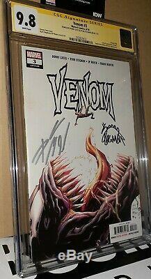 CGC 9.8 ss Signed Donny Cates Ryan Stegman Venom 3. 1st Full Appearance of Knull