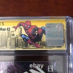 CGC 9.9 Marvel Collectible Classics chromium Spiderman #1 Signature McFarlane