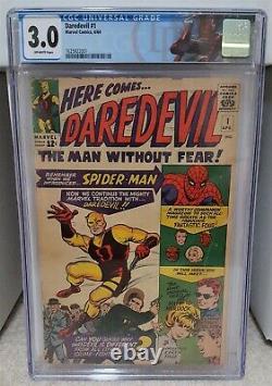 Daredevil #1 (1964) CGC 3.0 1st Appearance of Matt Murdock Marvel Comics Key